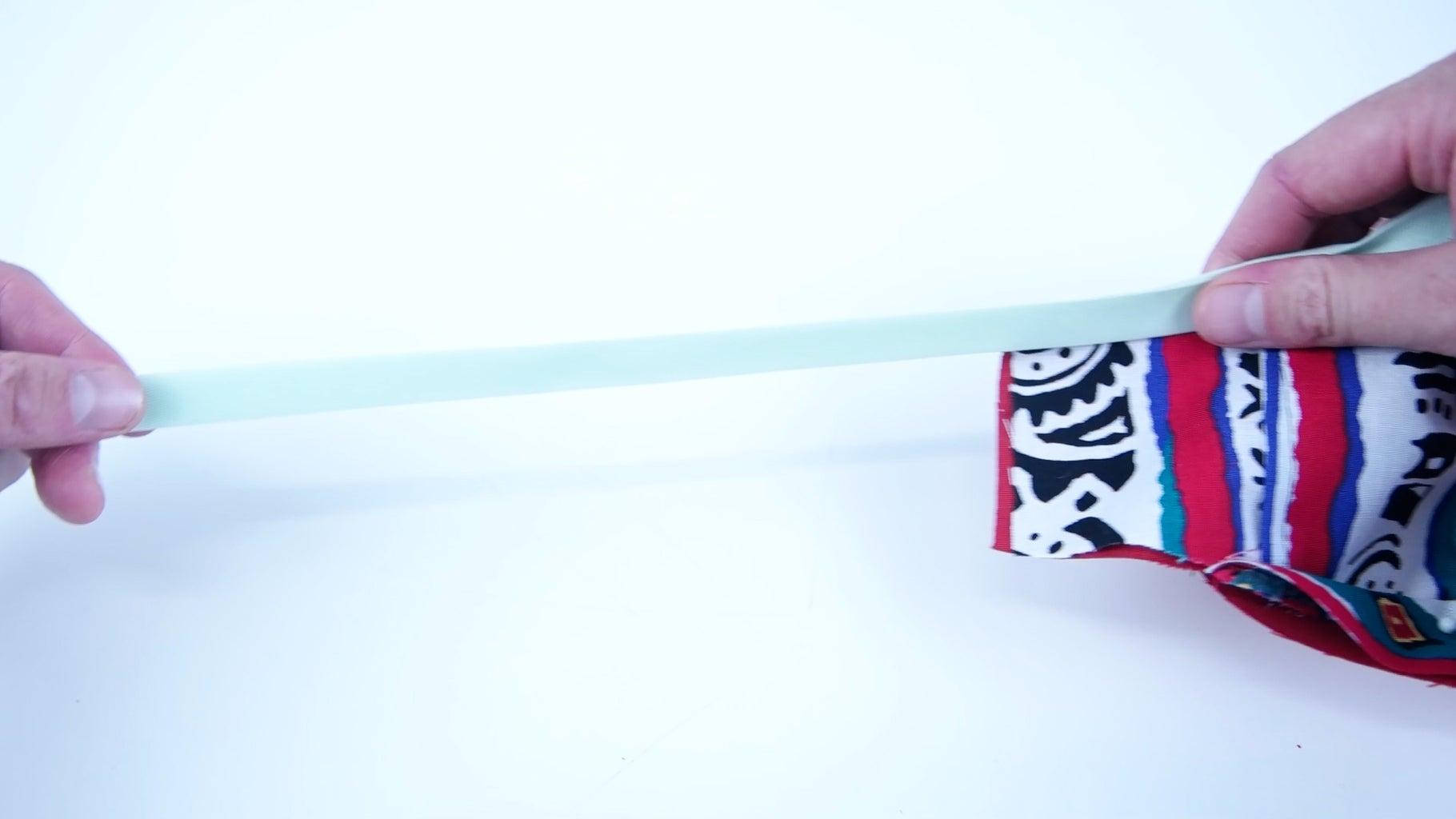 Bias Tape Top and Bottom Edge (Premade Bias Tape Method)