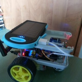 IoT: Raspberry Pi Robot With Video Streamer and Pan/Tilt Camera Remote Control Over Internet
