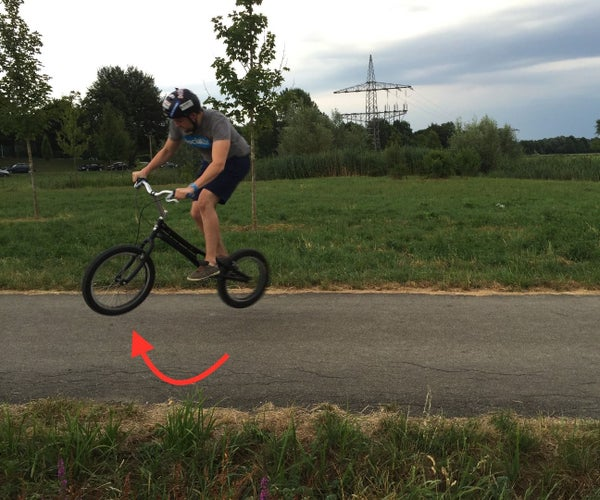 How to Perform a Supercool 360° Tailtap With Your Trial Bike