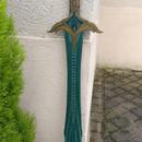 Skyrim Chillrend Prop Sword Made of Epoxy Resin