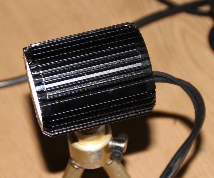 Easy 800-3000 lumen LED bike light (or video light)