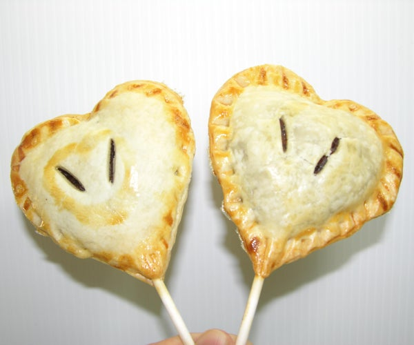 Valentine Week Heart Pie Pops