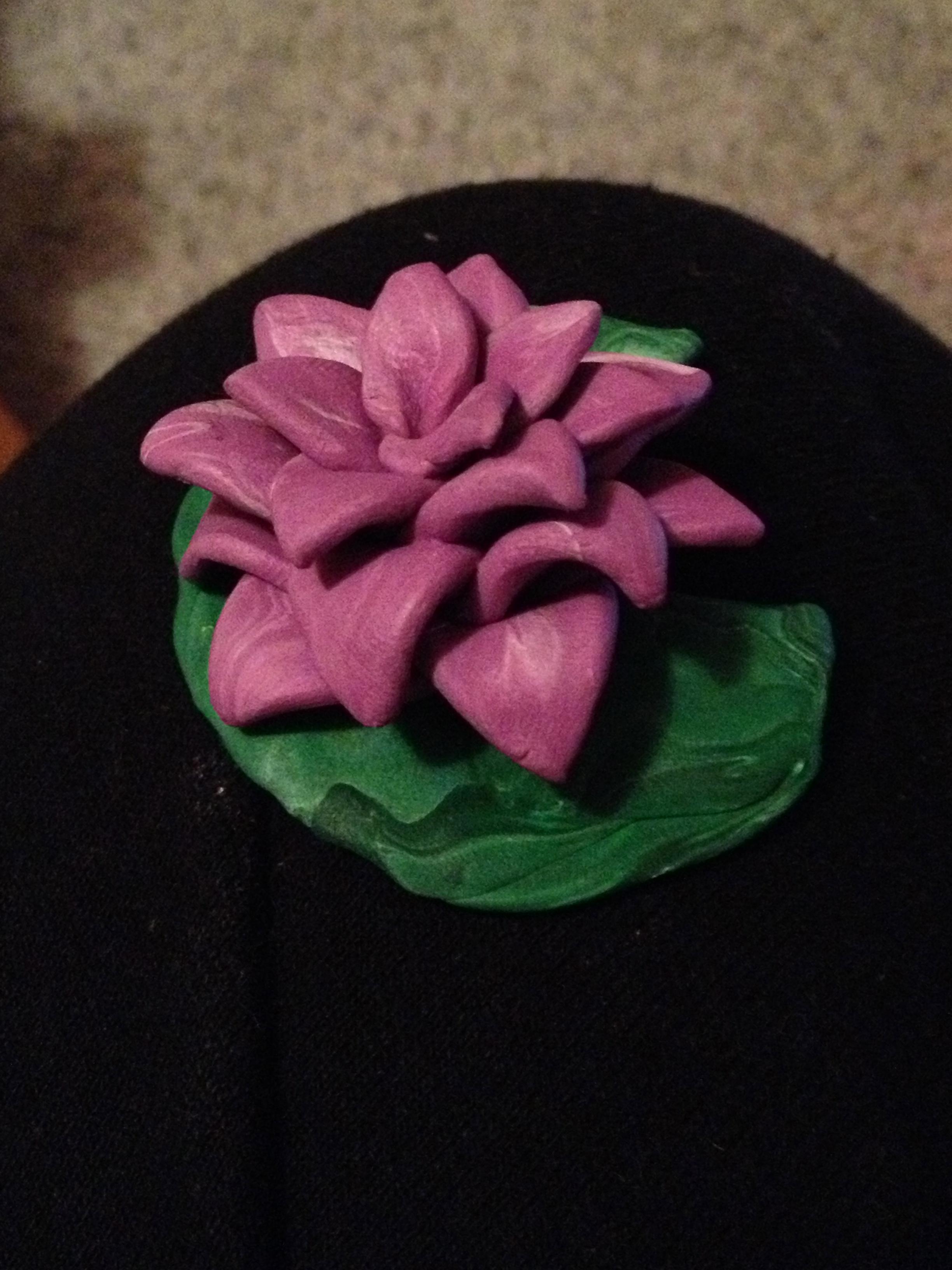 Clay Flower