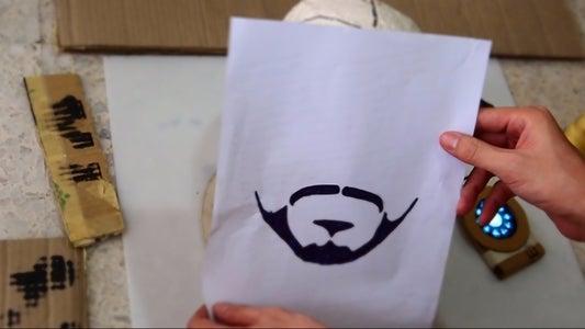 Grow Tony's Beard or Draw