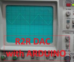 R2R Digital-Analog-Converter (DAC)