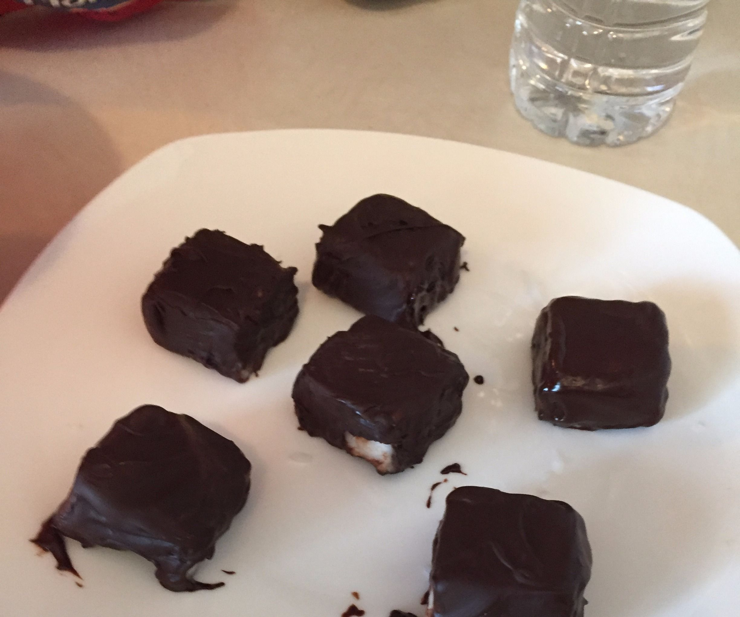 Almond Joy or Mounds Paleo / Keto Coconut Fat Bombs