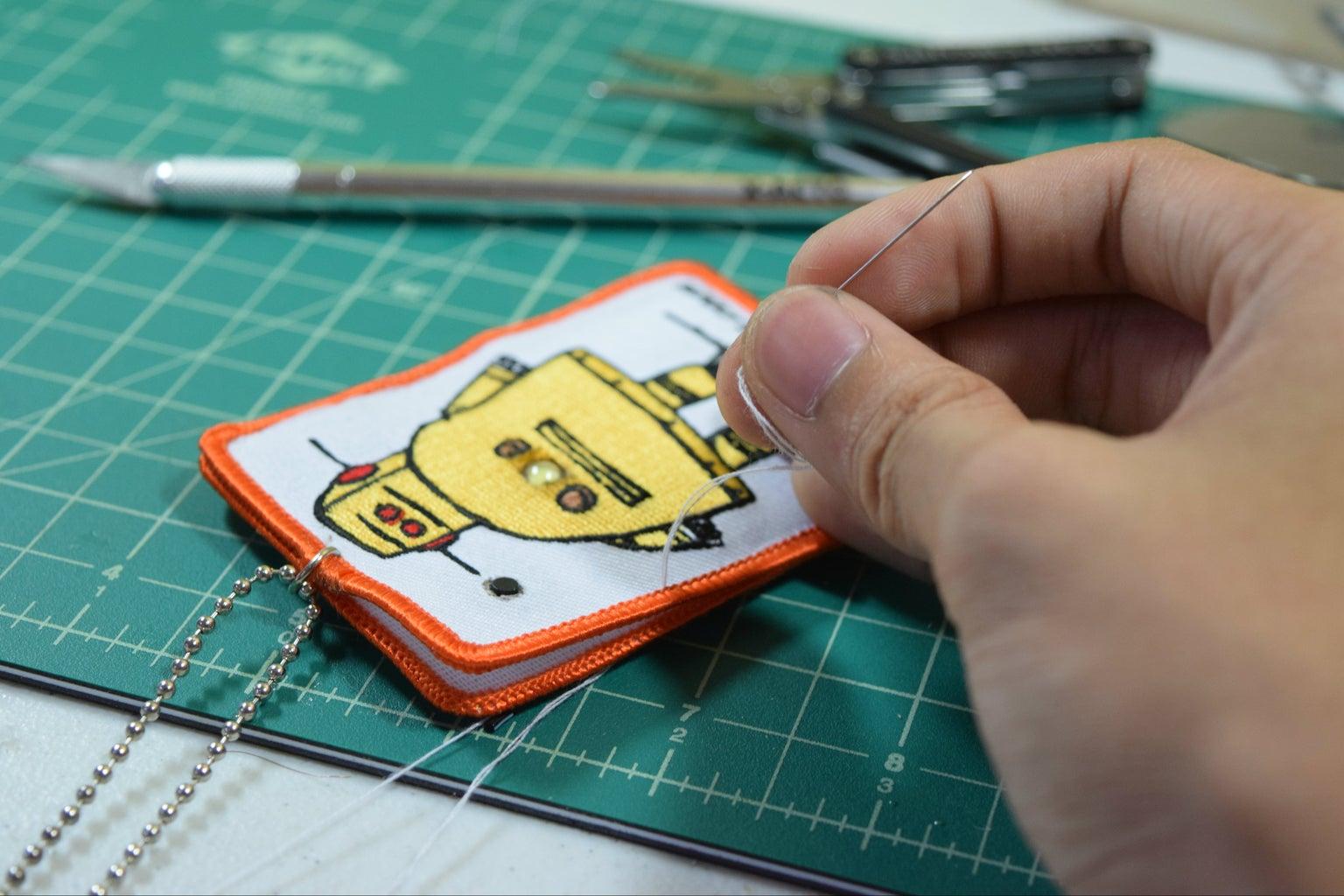 Sewing - Borrow Mom's Sewing Kit