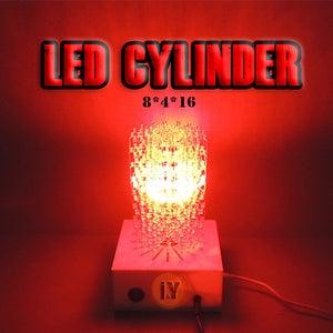"""MAKE a HUGE LED CYLINDER """" 8 X 4 X 16 """""""