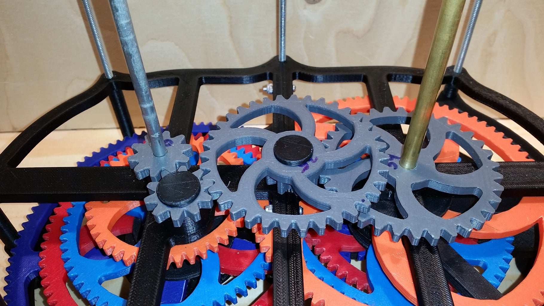 Stacking Gears and Frames- Frame 2 and Jupiter Gears