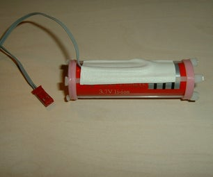 18650 Li-ion Battery Holder With Wires