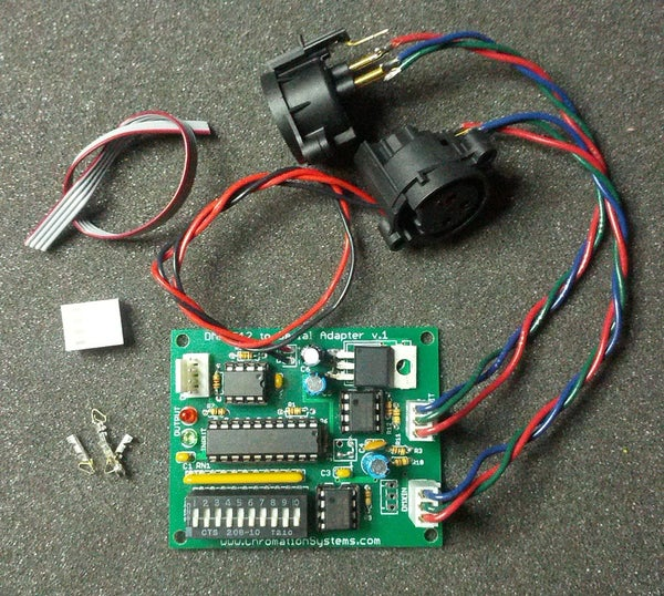 DMX-512 to Serial Adapter