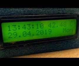 Arduino Alarm Clock With Temperature Sensor