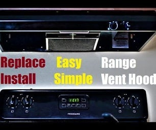 How to Replace Install Range Hood