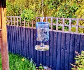 自动分配鸟类种子喂食器(无塑料!)