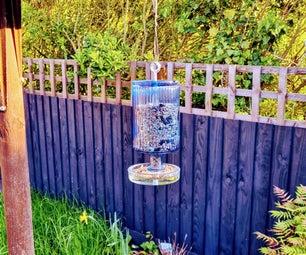Self Dispensing Bird Seed Feeder (plastic free!)