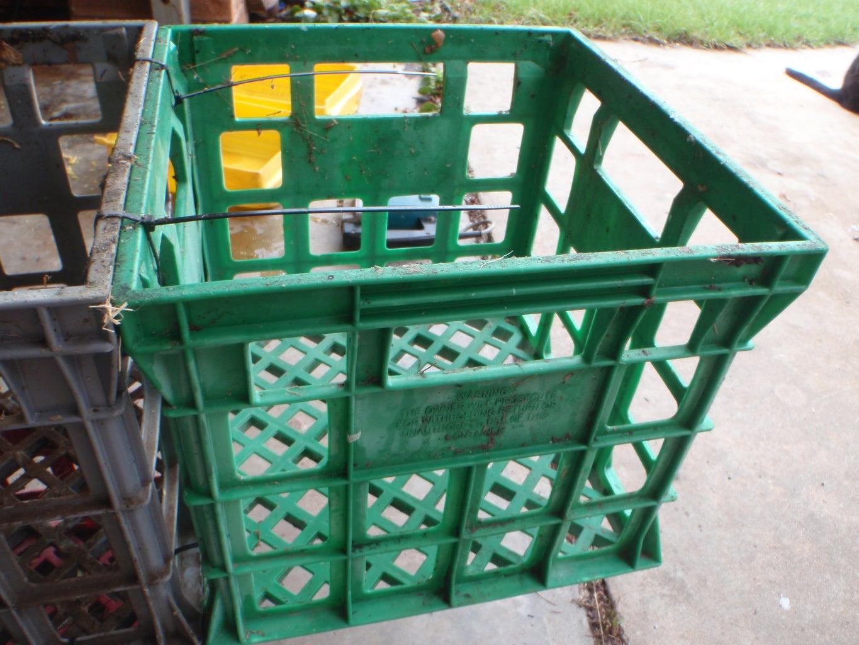 Optional Milk Crate Ladder
