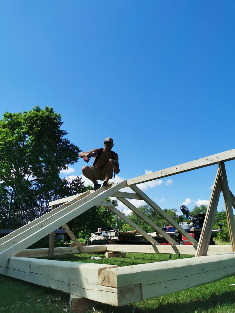 Starting the Roof Joinery