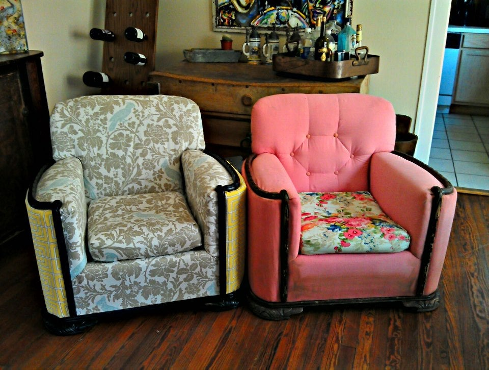 How To Reupholster A Chair 15 Steps, How To Reupholster Furniture