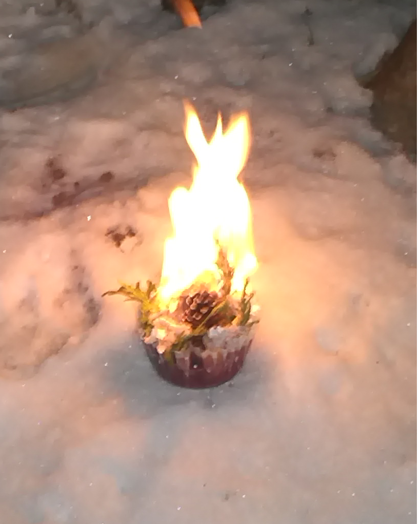 Christmas Fire Starter