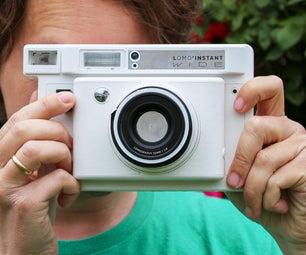 Instant Film Pinhole Camera
