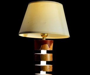 LED Log Lamp