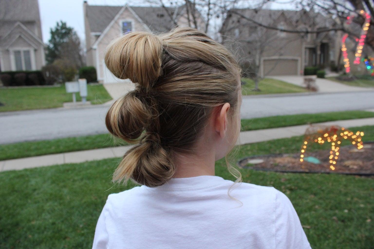 StarWars Rey Hair