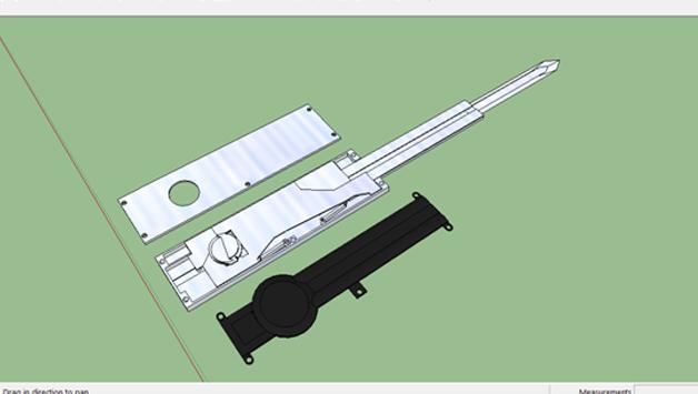 DA-OTF Hidden Blade: Functional and 3D-Printable Hidden Blade Prop