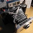 Polaroid Land Camera Fujifilm and Battery Mod