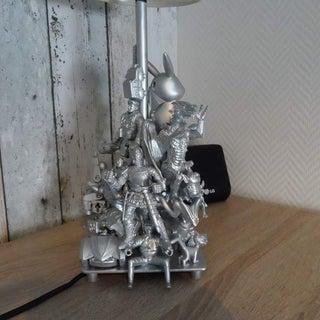 Action Figure Lamp