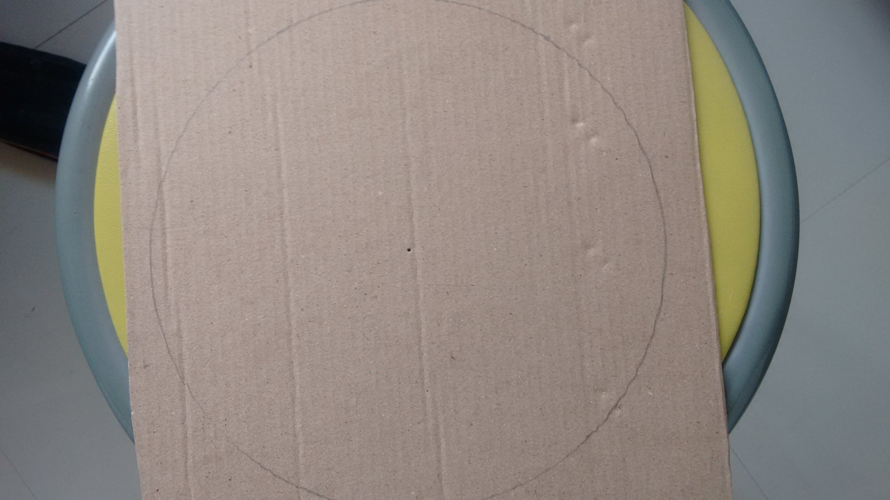 Drawing and Cutting Out the Circle