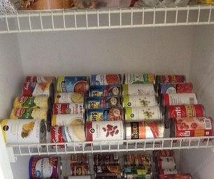 Super Easy Canned Food Organizer