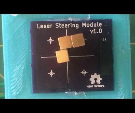 Moving Things (and Lasers!) Using Printed Circuit Boards
