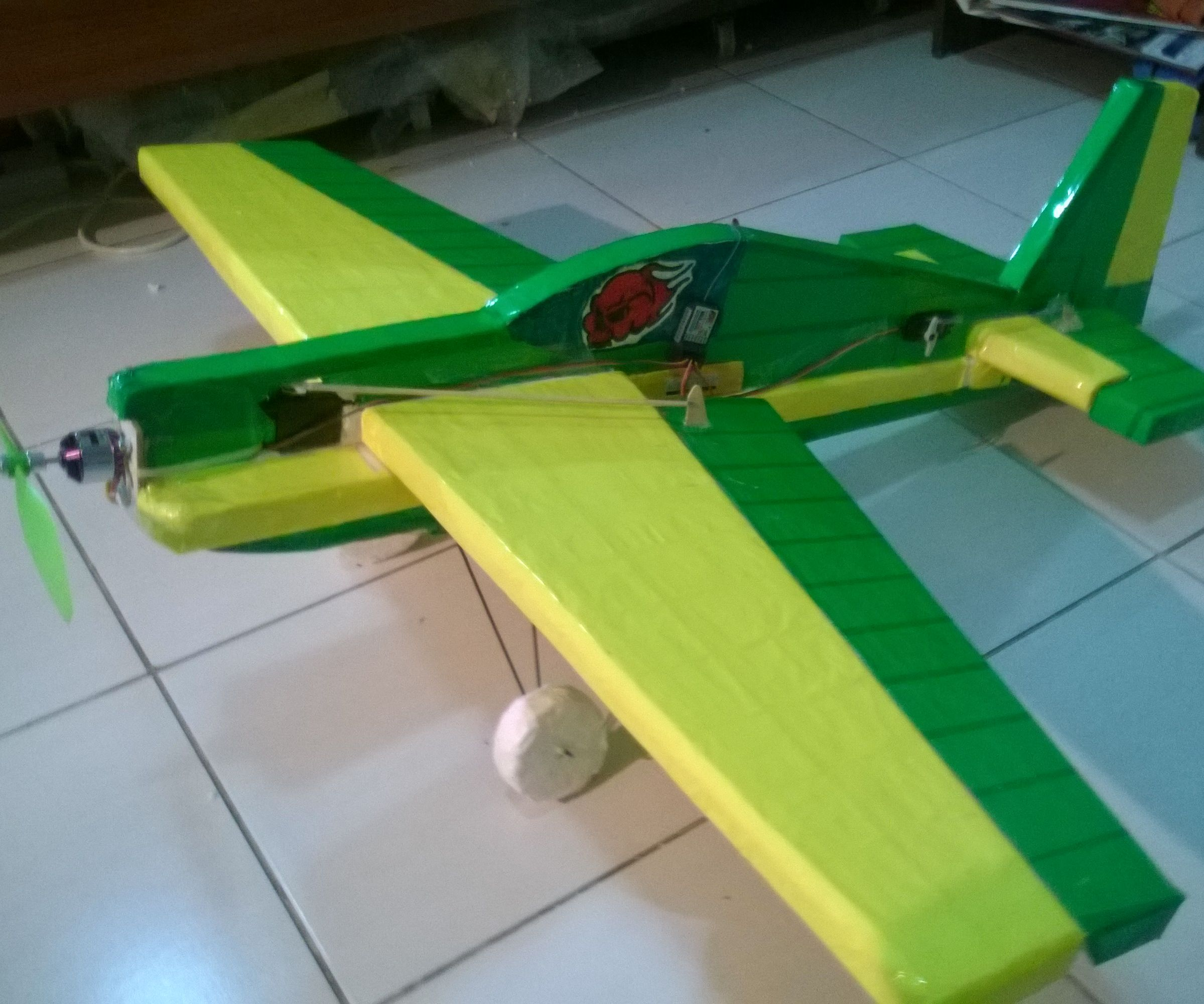 How to make an RC Plane using packing material (Thermocol)
