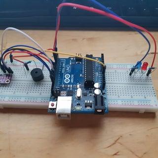 Arduino Nano Altimeter Using GY-BMP280