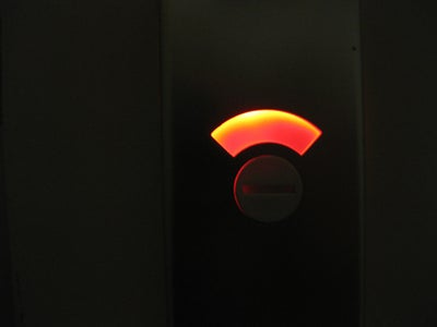Bathroom Lock LED Light