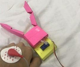 Human-Computer Interface:Function a Gripper(made by Origami) by Wrist Movement Using EMG.