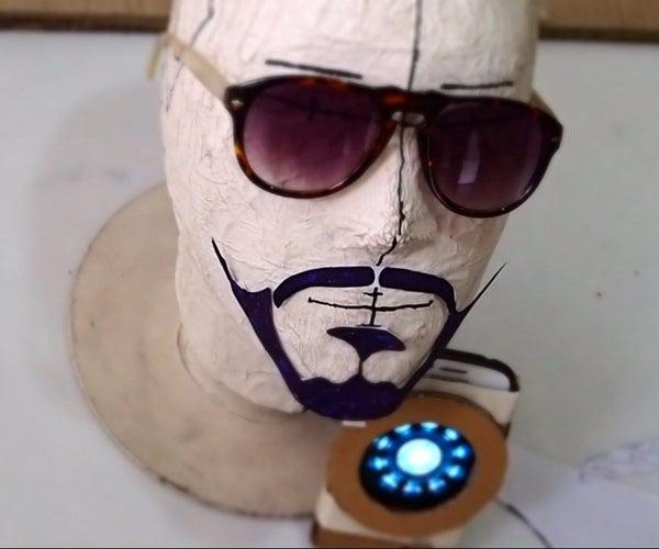 Zero Cost Iron Man Arc Reactor