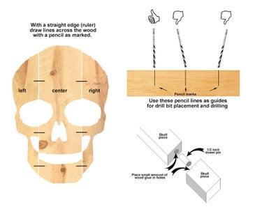 Skull Head Assembly