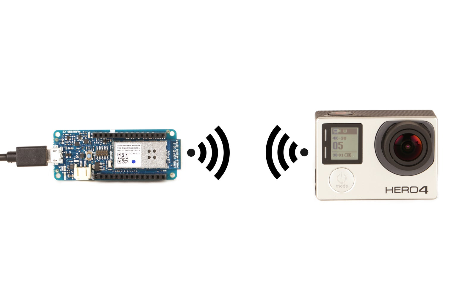 Connect an Arduino to the GoPro Hero