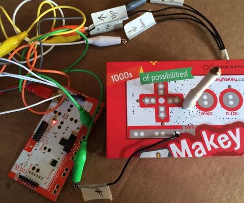 Makey Makey Joystick