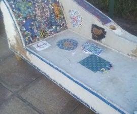 Mosaic Chaise Longue