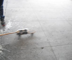 Mentos-and-Coke Propelled Skateboard