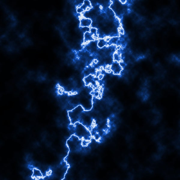 Simple Lightning in Photoshop