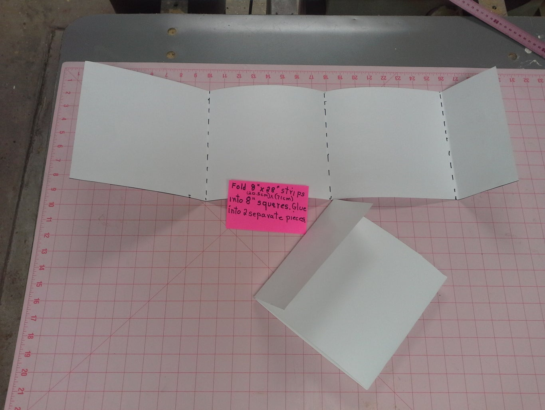 Cutting Poster Board.