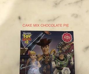 Cake Mix Chocolate Pie !?