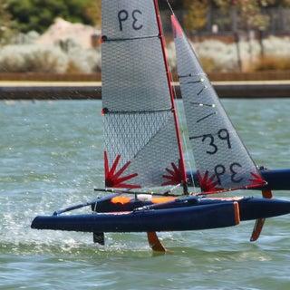 Rc Model Wing Catamaran