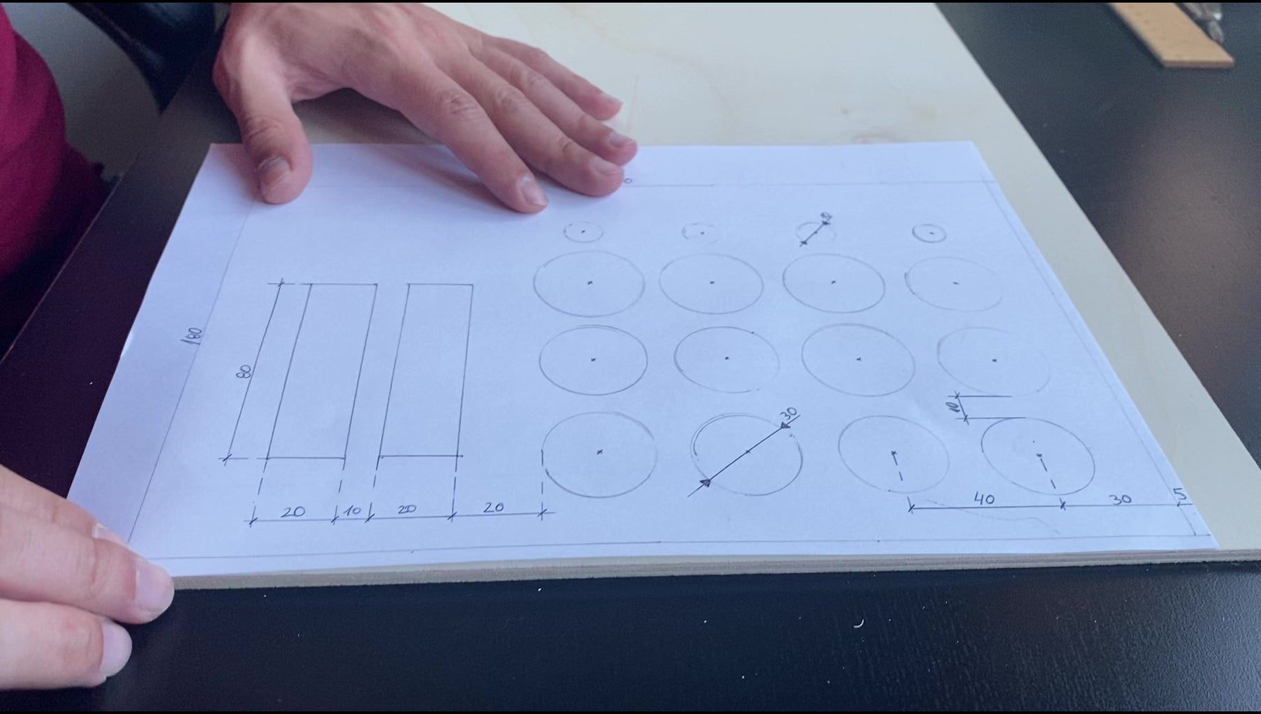 Sketching and Building the Interface