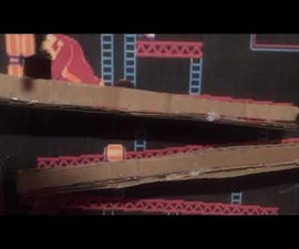 Donkey Kong Marble Course With Marble Elevator