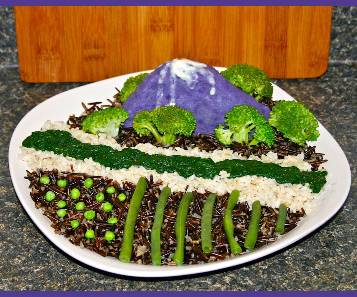 Vegan Landscape Meal