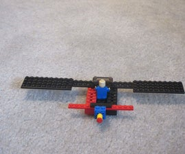Simple Lego Airplane